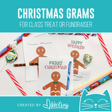 Christmas Cookie Candy Grams   Winter Grams   Class Treat