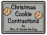 Christmas Cookie Contractions