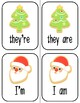 Christmas Cookie Contractions: Differentiated Contraction Practice