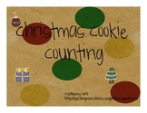Christmas Cookie Count & Clip