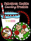 Christmas Cookie Counting Freebie