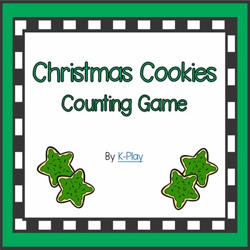 Christmas Cookie Counting Game