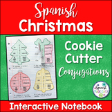 Christmas Cookie Cutter Conjugations: Spanish Interactive