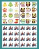Christmas Activities Synonyms Cookie Dunkin'  Literacy Centers - 60 Pairs