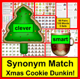 Christmas Activities Synonyms Cookie Dunkin'  Literacy Cen