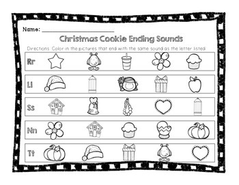 Christmas Cookie Ending Sound Sort
