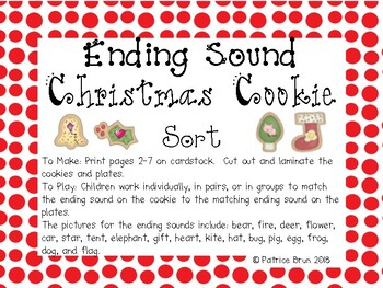 Christmas Cookie Ending Sounds