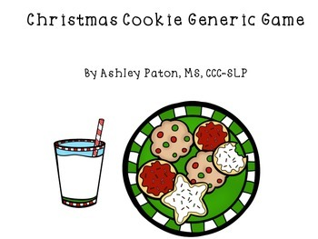 Christmas Cookie Generic Game