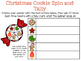 Christmas Cookie Graph, Spin and Tally