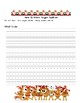 Christmas Cookie Instruction Writing Worksheet