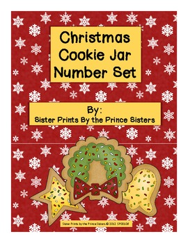 Christmas Cookie Jar Number Set