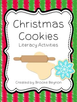 Christmas Cookie Literacy Activities