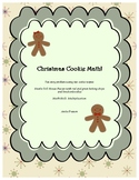 Christmas Cookie Math- Ten Multiplication Story Problems