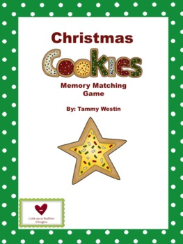 Christmas Cookie Memory