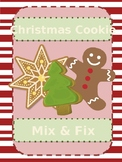 Christmas Cookie Mix & Fix (-et, at, and -ot)
