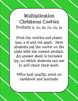 Christmas Cookie Multiplication