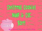 Christmas Cookie NWF and CVC sort!