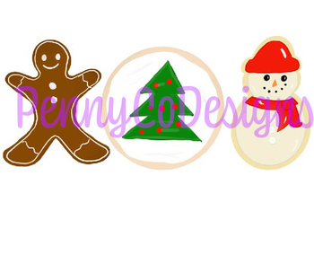 Christmas Cookie  PNG file Clip Art