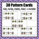 Patterns: Cookies and Milk Pattern Cards