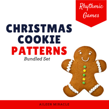 Christmas Cookie Patterns {Bundled Set}