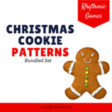 Christmas Cookie Rhythm Patterns {Bundled Set}