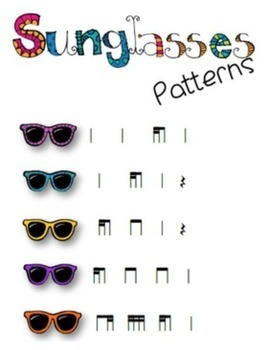 Sunglasses Patterns {Bundled Set}