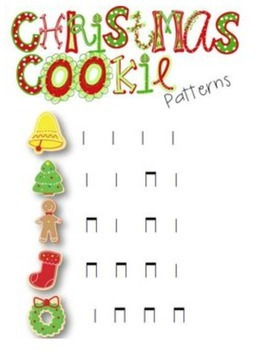 Christmas Cookie Patterns {Ta and Ti-Ti}