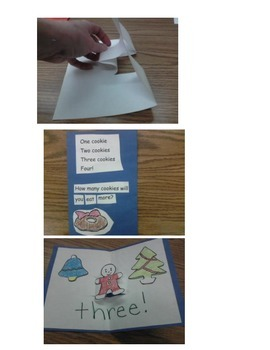 Christmas Cookie Pop-up Book