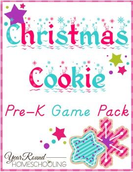 Christmas Cookie PreK Game Pack