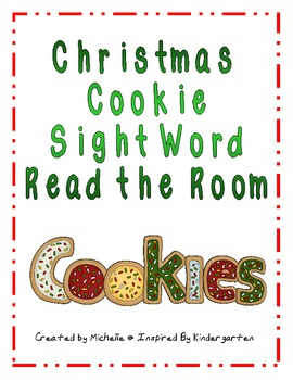 Christmas Cookie Read the Room