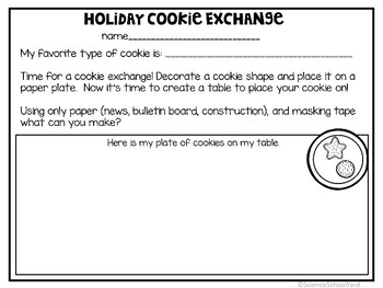 Christmas Cookie STEM Pack