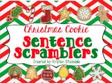Christmas Cookie Sentence Scramblers