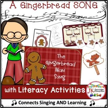 Gingerbread Man Song - Retelling Shared Reading Singable