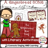 Gingerbread Man Song - Retelling Shared Reading Singable & MORE