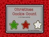 Christmas Cookie Ten Frame Match