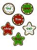 Christmas Cookie Word Sort Freebie