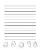"""""""Christmas Cookie"""" Writing Sheets –  Common Core  (color &"""