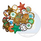 Christmas Cookies 27 Pieces (Color and BW Clip-Art)