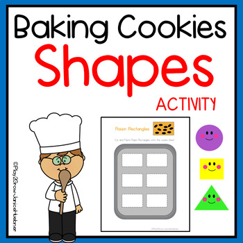 Christmas Cookies - 2D Shapes and Shape Word