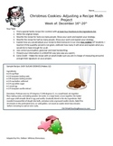 Christmas Cookies: A Fractions Homework Performance Task