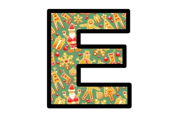 Christmas Cookies, Bulletin Board Letters, Classroom Decor