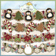Christmas Cookies Clip Art Bundle - 5 Colored Clip Art Sets