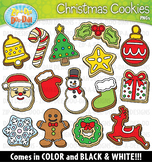 Christmas Cookies Clipart {Zip-A-Dee-Doo-Dah Designs}
