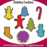 Christmas Cookies Clip Art by Jeanette Baker
