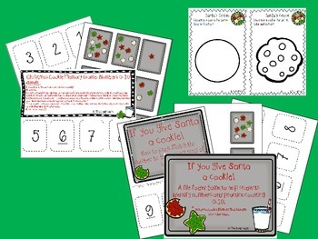 Christmas Cookies- Counting 0-10