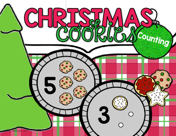 Christmas Cookies Counting Freebie