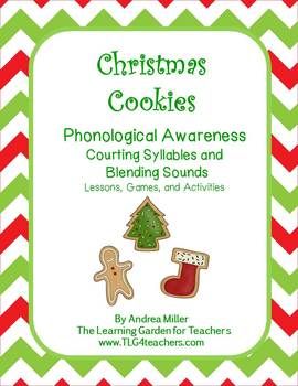 Christmas Cookies~Counting Syllables and Blending