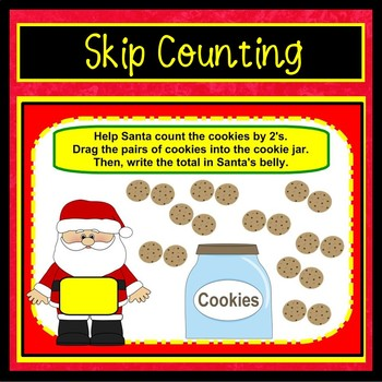 Smartboard Christmas Math
