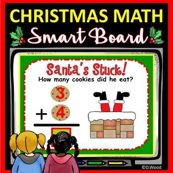 Smart Board Math Christmas Cookies Galore