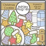 Christmas Cookies Clipart {A Hughes Design}